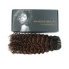 Jerry curl clip in hair extensions ombre N/4# 12"