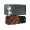 Kinky curly clip in hair extensions ombre N/30# 16"