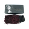 Kinky curly clip in extensions ombre N/99J# 16"