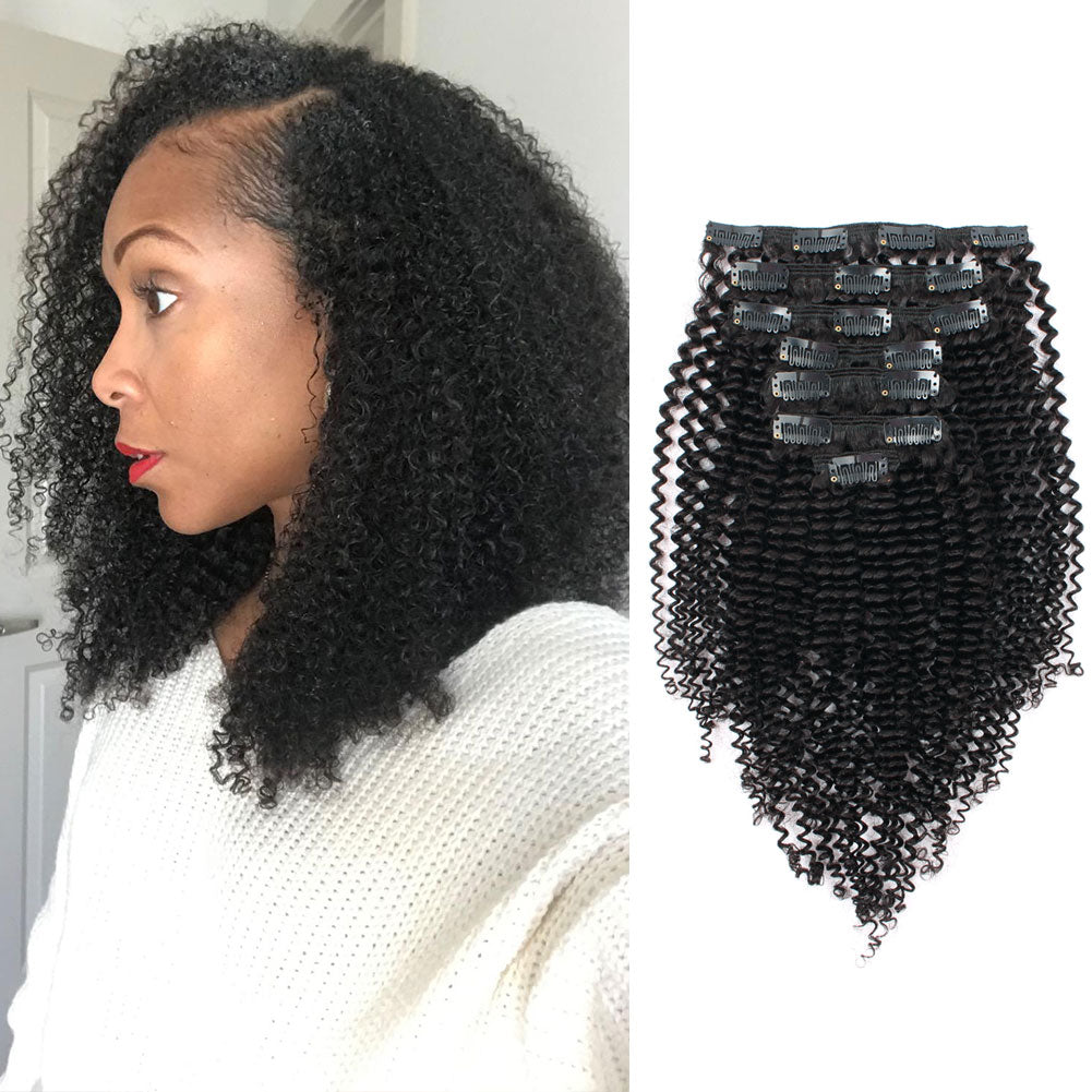 Clip in hair extension kinky curl amazingbeautyhairextensions next pmusecretfo Image collections