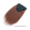 Kinky straight clip in extensions ombre N/33# 16"