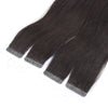 Natural Balck 100% Human Hair Virgin Tape In Hair Extensions