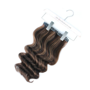 140g Highlights P2/4/6# Clip In Hair Extensions