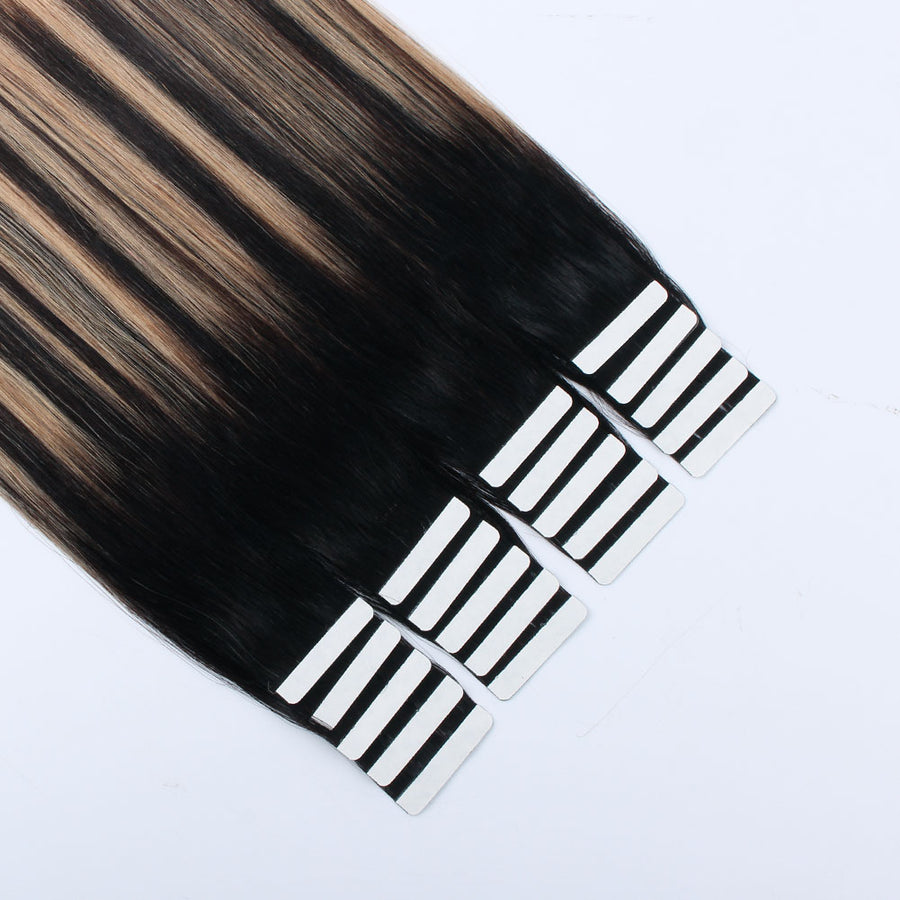 Tape In Hair Extension Balayage B#1B/#12