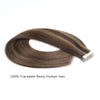 Remy tape in hair extensions highlights #2/4/6|var-31549209313352