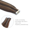 Remy tape in hair extensions Highlights #2/4/6 |var-31551554420808