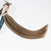 Tape In Hair Extension P #3/#12 Medium Brown Highlights Golden Brown
