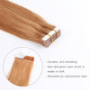 Remy tape in hair extensions #30 Light Auburn |var-31550918033480