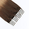 Remy tape in hair extensions omber #4/18|var-31549209182280