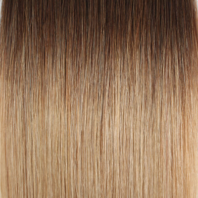 Tape In Hair Extension T #4/#18 Medium Brown Ombre Dirty Blonde