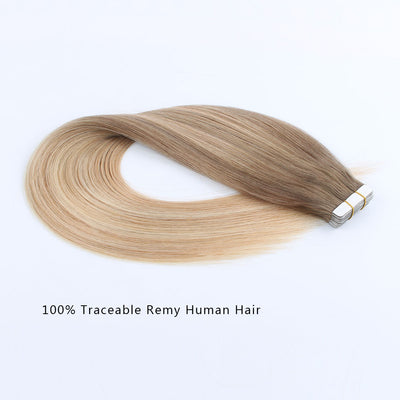 Tape In Hair Extension Balayage B#8/#18/#60