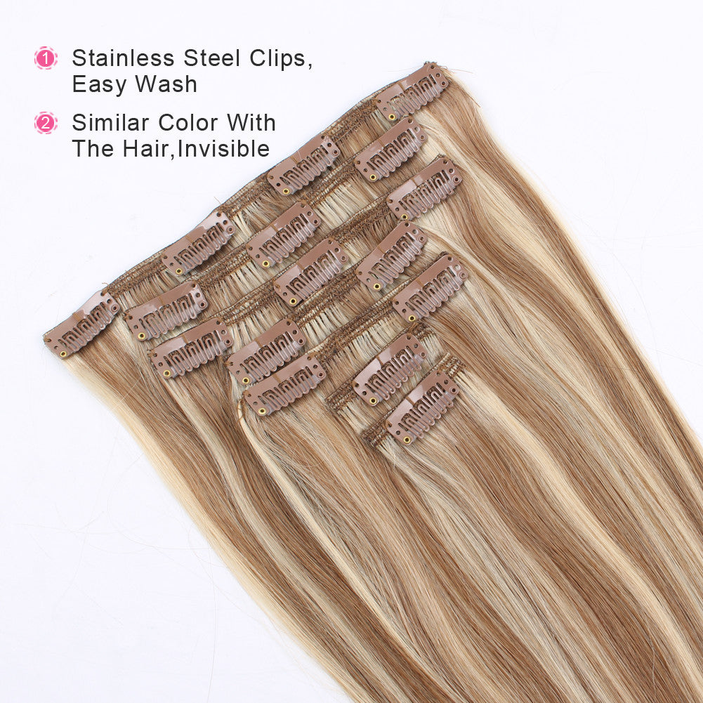 Clip In Hair Extension Highlights P10613