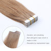 Remy tape in hair extensions #10 medium golden brown |var- 31550917869640