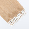 Remy tape in hair extensions #18 dirty blonde|var-31549208756296