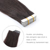 Remy tape in hair extensions #1B off black|var-31550917673032