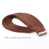 Tape In Hair Extension #33 Dark Auburn