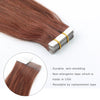 Remy tape in hair extensions #33 Dark Auburn |var-31550918000712