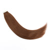 Remy tape in hair extensions #4 medium reddish brown |var-31550917771336