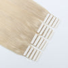 Remy tape in hair extensions #60 ash blonde|var-31549209051208