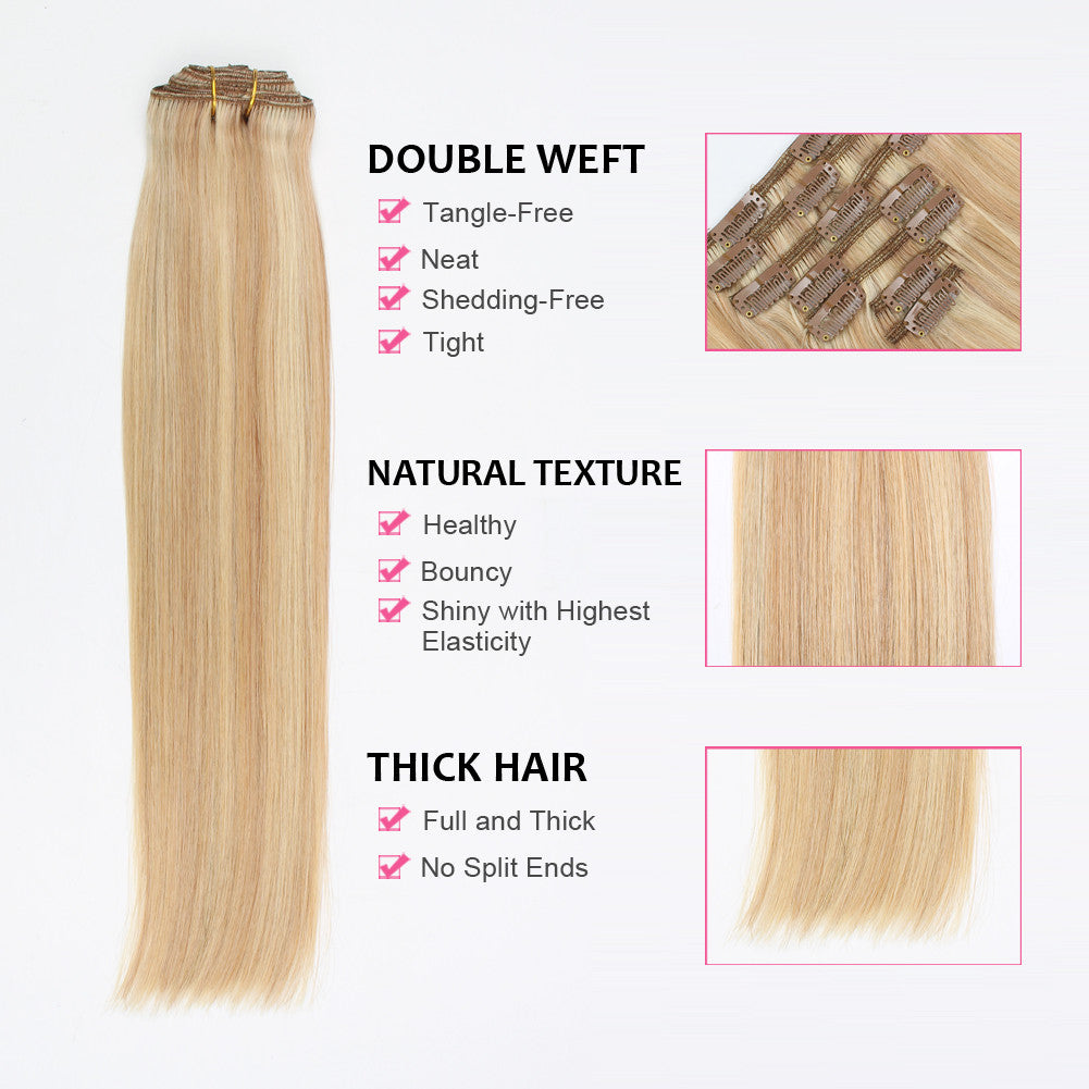 Clip In Hair Extension Highlights P18613