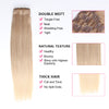 Clip in Hair Extension Brown Mix Blonde Mix#8/#60