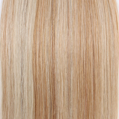 Tape In Hair Extension P #12/#60 Dark Dirty Blonde Highlights Ash Blonde