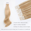 Remy tape in hair extensions Highlights #12/60 |var-31550918492232