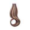 Tape In Hair Extension P #4/#12 Medium Brown Highlights Golden Brown