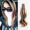 Tape In Hair Extension P #4/#22 Medium Brown Highlights Medium Blonde