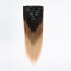 Clip in Hair Extension Brown To Blonde T#2/#6/#18