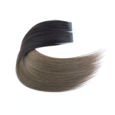 Ombre #2/66 Virgin Tape  In Hair Extensions 18""