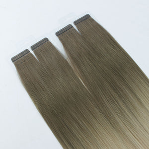 Ombre #28/60 Virgin Tape In Hair Extensions 18""