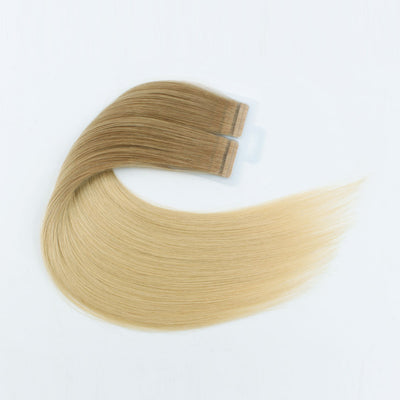 Ombre #9/25 Virgin Tape  In Hair Extension 18""