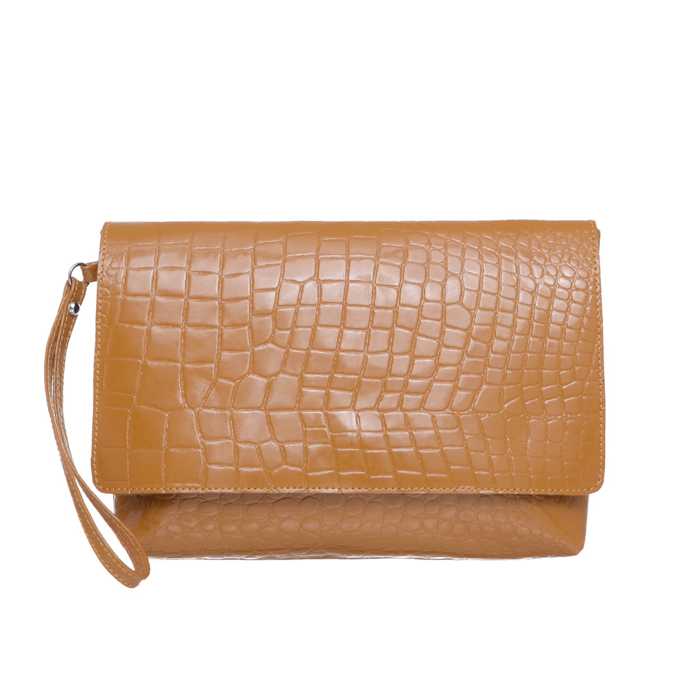 Foulonne Croco Dijon Bag