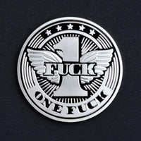 One Flying Fuck Novelty Coin