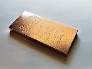 1 Kilo .999 Fine Copper Bullion Bar