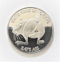 Rats Ass - Novelty Coin