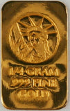TRUMP 2020 - Limited Edition - 1/4 Gram .9999 Fine 24k Gold Bullion Bar - In COA Card