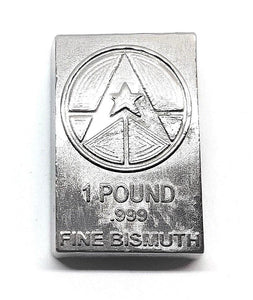 1 Pound .999 Fine Bismuth Bullion Bar