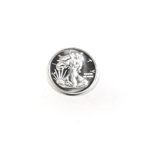 1 Gram .999 Fine Silver Round - Walking Liberty