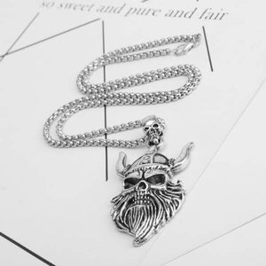 Celte Celtique Viking Nordique Marteau Thor Puy du Fou Guerrier Collier Barbe