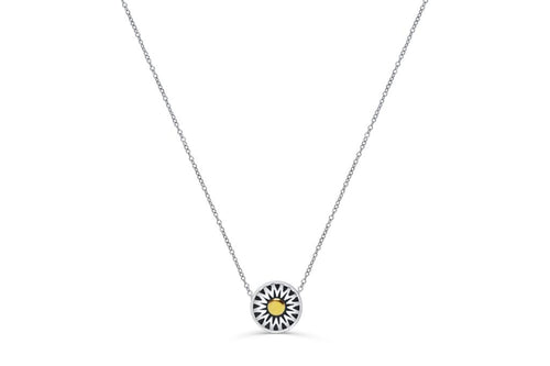 Mini Crown Sun Necklace