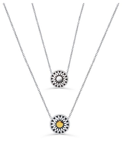 Crown Sun Necklace