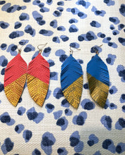 Feather Eearrings