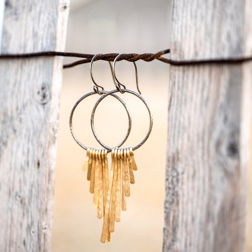 Arc Angel Fringe Hoops