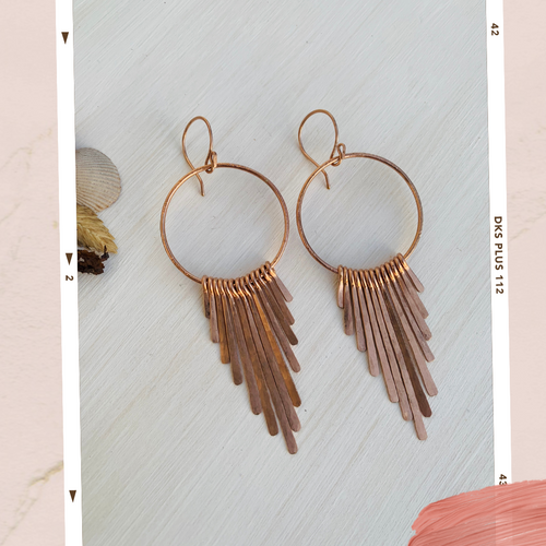 Rosie Fringe Benefits Hoops
