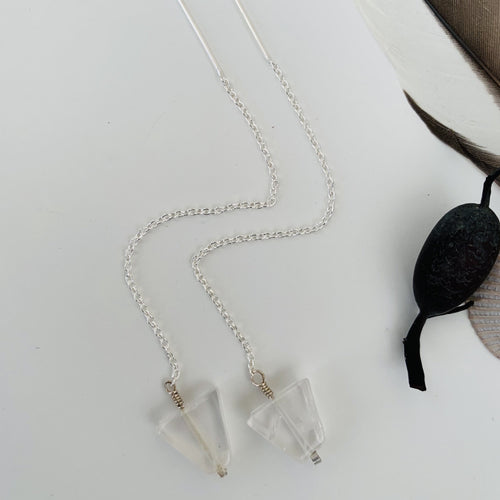 Rose Quartz Arrowhead Threaders