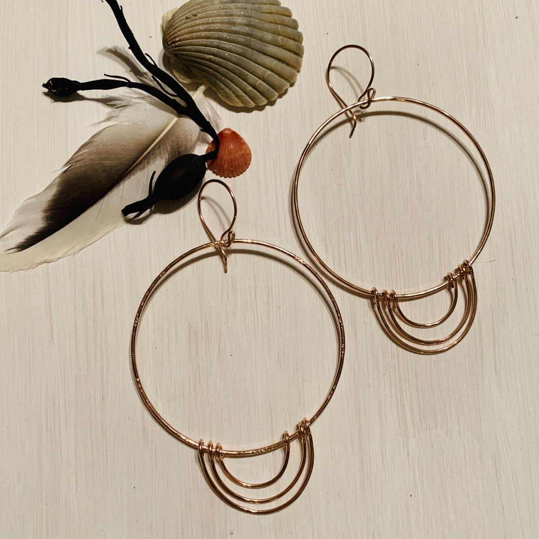 Rosie Halo Hoops