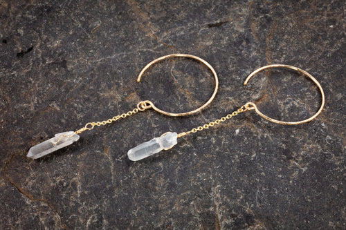 Lasso The Moon Hoops With Quartz