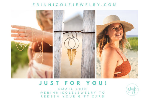 Erin Nicole Jewelry Gift Card